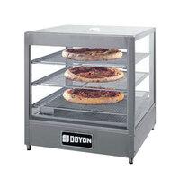 Doyon DRP3 20 1/8 inch Countertop Hot Food Merchandiser / Warmer with 3 Shelves - 120V