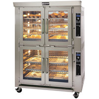 Doyon JA20G Jet Air Natural Gas Double Deck Bakery Convection Oven - 208V, 170,000 BTU
