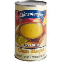 Chincoteague Condensed Clam Bisque - 51 oz. Can
