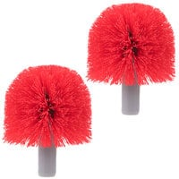 Unger BBRHR Replacement Brush Heads for Unger Ergo Toilet Bowl Brush   - 2/Pack