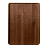 Burma Teak Cambro 1219D308 12 inch x 19 inch Wood-Look Dietary Tray 12 / Case
