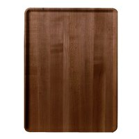 Cambro 1219D308 12 inch x 19 inch Burma Teak Wood-Look Dietary Tray - 12/Case
