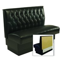 American Tables & Seating AS-48T-Wall Button Tufted Back Wall Bench - 48 inch High