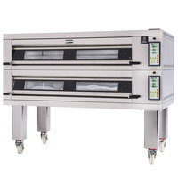 Doyon 3T2 Artisan 2 Stone 56 inch Deck Oven - 6 Pan Capacity, 208V, 3 Phase