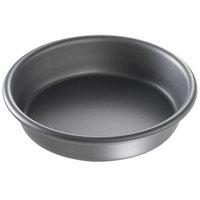 Chicago Metallic 91065 6 inch x 1 1/2 inch BAKALON Pre-Seasoned Aluminum Customizable Deep Dish Pizza Pan