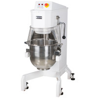 Doyon BTF040 40 Qt. Commercial Planetary Floor Mixer with Guard - 208/240V, 3 hp