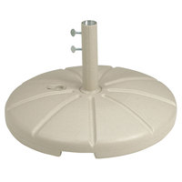 Grosfillex US602166 Sandstone Resin Umbrella Base for Table Use