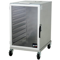 NU-VU HW-2-1/2G 9 Pan End Load Half Height Enclosed Bun / Sheet Pan Rack - Assembled