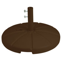 Grosfillex US602137 Bronze Resin Umbrella Base for Table Use