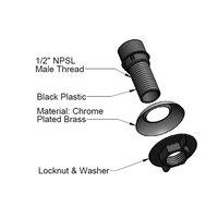 T&S 001496-45 Sidespray Hose Guide