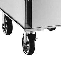Alto-Shaam 4007 5 inch Rigid and Swivel Casters - 4 / Set