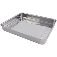 Bon Chef 60017 Cucina 5 Qt. Stainless Steel Roasting Pan - 14 inch x 12 1/8 inch x 2 1/8 inch