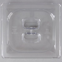 Vollrath 31600 Super Pan® 1/6 Size Clear Polycarbonate Solid Cover