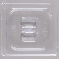 Vollrath 32600 Super Pan® 1/6 Size Clear Polycarbonate Slotted Cover