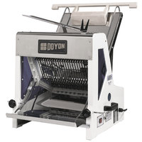 Doyon SM302C Countertop Bread Slicer - 1 inch Slice Thickness, 15 inch Max Loaf Length - 1/4 hp