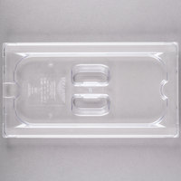 Vollrath 32300 Super Pan® 1/3 Size Clear Polycarbonate Slotted Cover