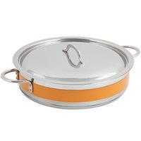 Bon Chef 60030CLD Cucina 6 Qt. Orange Brazier Pot with Cover