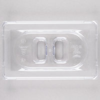 Vollrath 31900 Super Pan® 1/9 Size Clear Polycarbonate Solid Cover