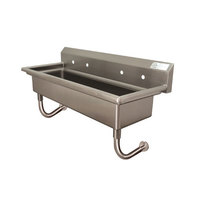 Advance Tabco FS-WM-72 Wall Mount Multi-Station Hand Sink 72 inch with 8 inch Deep Bowl