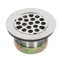 Advance Tabco K-63 2 inch Drain Assembly with Strainer Plate - 1 1/2 inch IPS