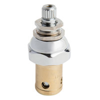 T&S 006477-40 Eterna Spindle Assembly for Dome Left to Close Cold Faucet Handles