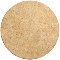 Grosfillex 99831158 30 inch Catalan Round Molded Melamine Outdoor Table Top