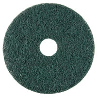 Scrubble by ACS 73-14 14 inch Emerald Hy-Pro Stripping Floor Pad - Type 73 - 5/Case