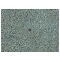 Grosfillex 99851325 48 inch x 32 inch Granite Green Rectangular Molded Melamine Outdoor Table Top with Umbrella Hole