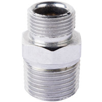 T&S 006101-45 Fitting Adapter with 3/8-18 NPT and 9/16-24 UN Male Connections
