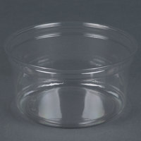 Dart Solo DM12R-0900 Bare 12 oz. Clear Deli Container Recycled - 500/Case
