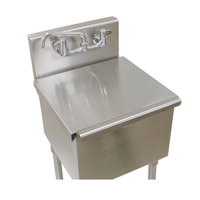 Advance Tabco LSC-81 18 inch x 18 inch Stainless Steel Sink Compartment Cover