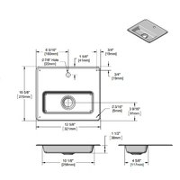 T&S 010123-45 Stainless Steel Drip Pan
