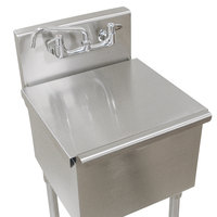 Advance Tabco LSC-242 24 inch x 24 inch Stainless Steel Sink Compartment Cover