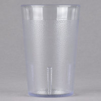 Cambro 800P152 Colorware 7.8 oz. Clear Plastic Tumbler   - 6/Pack