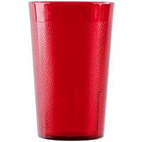 Cambro 950P156 Colorware 9.8 oz. Ruby Red Plastic Tumbler - 6 / Pack