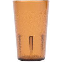 Cambro 500P153 Colorware 5.2 oz. Amber Plastic Tumbler - 6/Pack