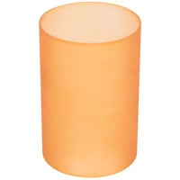Sterno Products 85290 Orange Frost Cylinder Globe