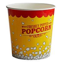 Carnival King 130 oz. Popcorn Bucket - 25/Pack