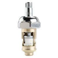 T&S 012395-25 Cerama Cartridge with Bonnet and Check Valve for Cold Left to Close Faucet Handles