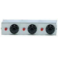 APW Wyott 76489 Remote Control Box Enclosure for Calrod Strip Warmers (3) Infinite 240V