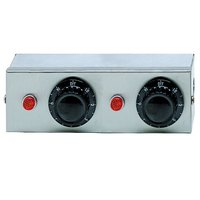 APW Wyott 76485 Remote Control Box Enclosure for Calrod Strip Warmers (2) Infinite 120V