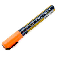 American Metalcraft BLSMA510OR Securit All-Purpose Small Tip Orange Chalk Marker - 2/Pack