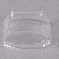 Fineline Tiny Temptations 6406-L Clear Dome Lid for 2.2 oz. Tiny Tumbler - 1000/Case