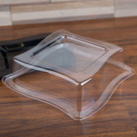 Fineline Wavetrends 108-L 8 inch Clear Dome Lid - 120/Case