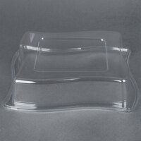 Fineline Wavetrends 109-L 9 1/2 Clear Dome Lid - 120 / Case