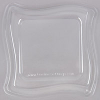 Fineline Wavetrends 106-L 6 1/2 inch Clear Dome Lid - 120 / Case