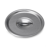 Vollrath 79020 4 3/4 inch Stainless Steel Bain Marie Cover