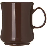 Carlisle 810401 Diablo II 8.9 oz. Brown Mug - 36/Case