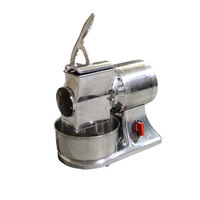 Medium-Duty Stainless Steel 1 hp Electric Cheese Grater - 110V