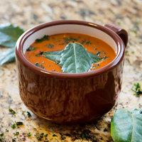 Carlisle 451228 12 oz. Lenox Brown Jumbo Soup / Latte Mug - 24/Case